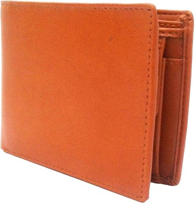 NUKAICHAU Men Tan Artificial Leather Wallet(4 Card Slots)