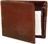 Orbit Men Brown Artificial Leather Walle...