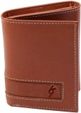 Garri Boys Tan Genuine Leather Wallet (5...