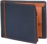 Hidelink Men Blue Genuine Leather Wallet...