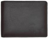 Deparq Men Black Genuine Leather Wallet ...
