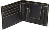 Essart Men Casual Black Genuine Leather ...