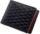 Kuero Men Black Artificial Leather Walle...