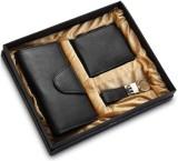 Arum Men Black Genuine Leather Wallet (7...