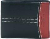 Vermello Men Black Artificial Leather Wa...