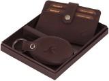 Hornbull Men Brown Genuine Leather Card ...