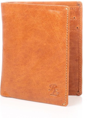 Walletsnbags Men, Women Casual Tan Genuine Leather Wallet