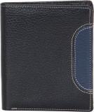 American-Elm Men Black Genuine Leather W...