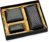 Arum Men Black Artificial Leather Wallet...