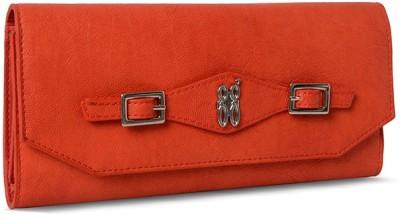 Baggit Girls, Women Orange Artificial Leather Wallet