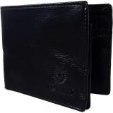 Orbit Men Black Artificial Leather Walle...