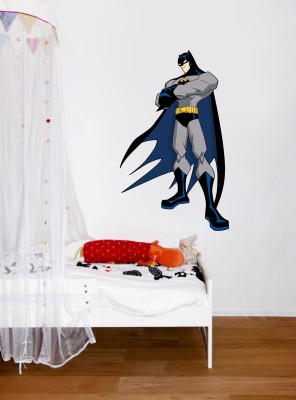 Wallnutscafe Superheroes Wallpaper(65.00 cm X 40.60 cm)