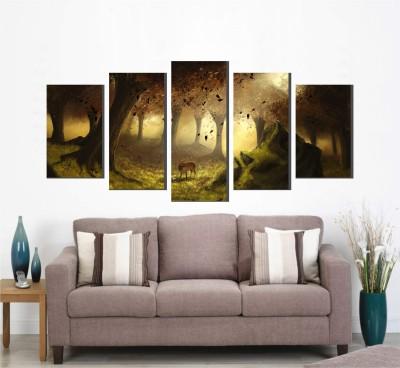 Wallnutscafe Nature Wallpaper(45.72 cm X 99.67 cm)