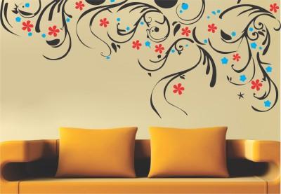 Wallnutscafe Floral & Botanical Wallpaper(30.00 cm X 71.00 cm)