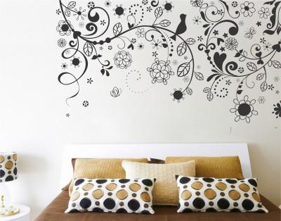 Wallnutscafe Floral & Botanical Wallpaper(36.50 cm X 60.96 cm)