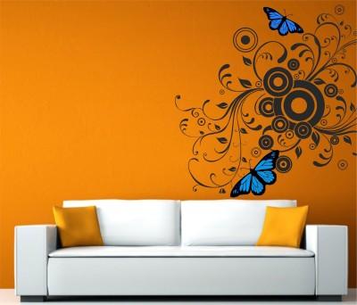 Wallnutscafe Floral & Botanical Wallpaper(45.72 Cm X 45.72 cm)