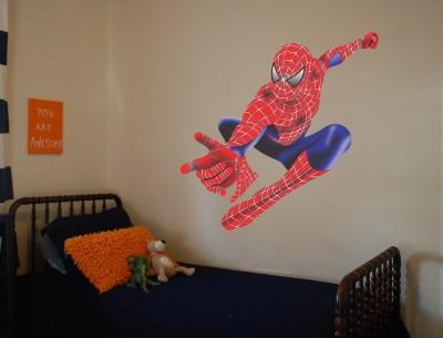 Wallnutscafe Superheroes Wallpaper(55.88 cm X 55.88 cm)