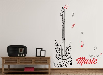WALLNUTSCAFE Music & Musical Instruments Wallpaper(53.34 cm X 42.01 cm)