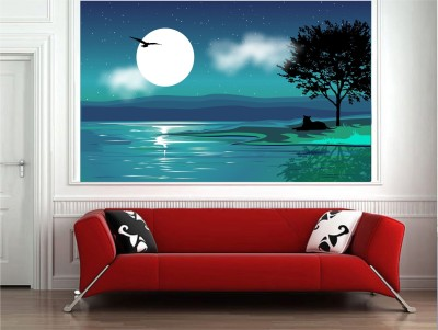 WALLNUTSCAFE Art & Paintings Wallpaper(32.72 cm X 53.34 cm)