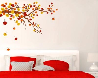 WALLNUTSCAFE Floral & Botanical Wallpaper(48.18 cm X 55.88 cm)