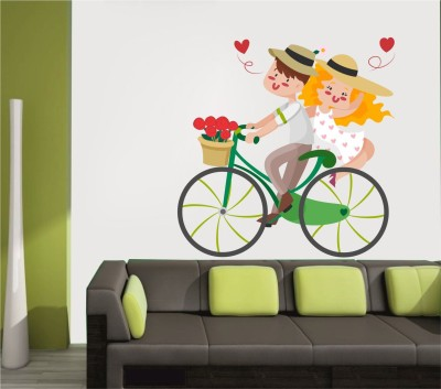 WALLNUTSCAFE Animation & Cartoons Wallpaper(45.72 cm X 45.72 cm)