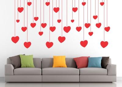 Wallnutscafe Romance Wallpaper(38 cm X 76 cm)