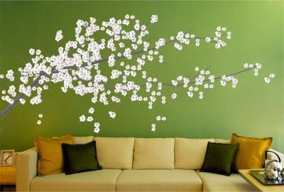 Wallnutscafe Floral & Botanical Wallpaper(30.48 Cm X 70.71 Cm)