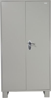 Godrej Interio Wardrobe H1 Metal Almirah(Finish Color - Prince Grey)