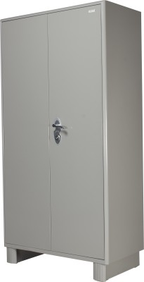 Godrej Interio Wardrobe H Metal Free Standing Wardrobe(Finish Color - Prince Grey, 2 Door )