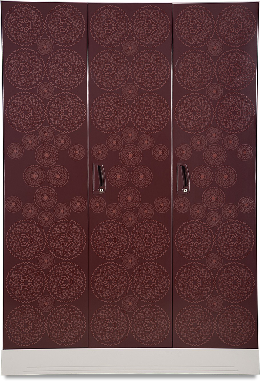 Godrej Interio Slimline 3 WL Metal Almirah(Finish Color - Copper brown)