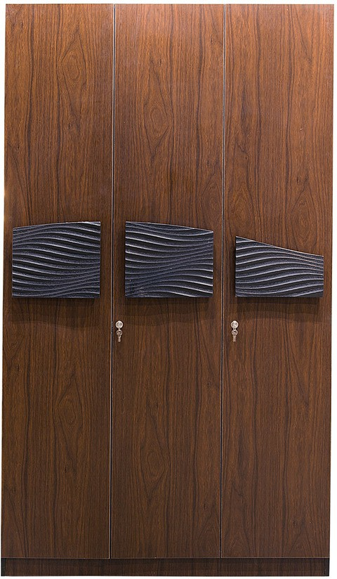 View Parin Engineered Wood Modular Closet(Finish Color - Veneer Finish, 3 Door ) Furniture (Pearl)