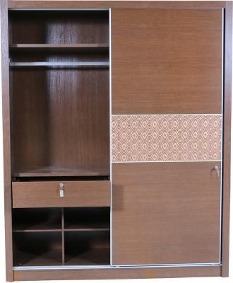 HomeTown Nebula Engineered Wood Free Standing Wardrobe