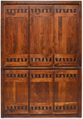 @home by Nilkamal Thyme Solid Wood Free Standing Wardrobe