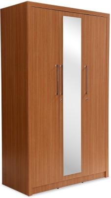 Durian JASMINE/WD-3 Engineered Wood Free Standing Wardrobe
