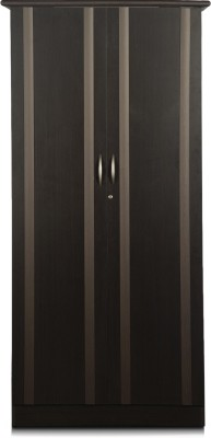 Godrej Interio Zurina Engineered Wood Free Standing Wardrobe(Finish Color - Wenge, 2 Door )