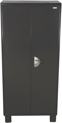 Godrej Interio Metal Free Standing Wardrobe(Finish Color - Graphite Grey, 2 Door )