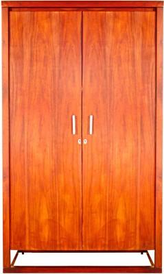 Godrej Interio AVANA SOLID WOOD TWO DOOR WARDROBE Solid Wood Free Standing Wardrobe