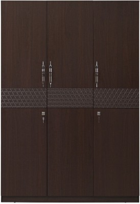 @home by Nilkamal Triumph Engineered Wood Free Standing Wardrobe