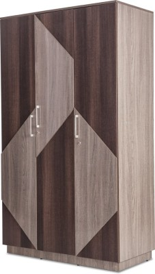 Durian THOMAS/WD-3 Engineered Wood Free Standing Wardrobe
