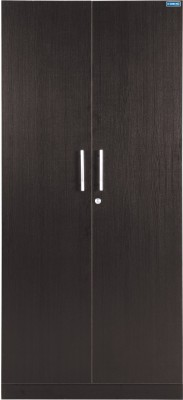 Spacewood Engineered Wood Free Standing Wardrobe(Finish Color - Natural Wenge)