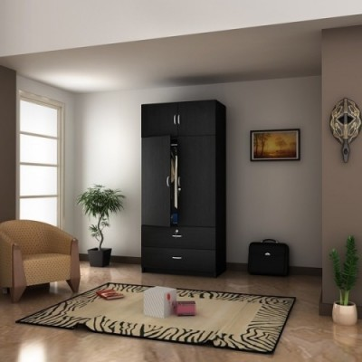 Housefull Engineered Wood Free Standing Wardrobe