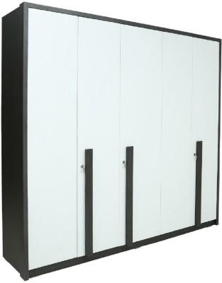 RAWAT SERIES 36 Engineered Wood Modular Wardrobe(Finish Color - MALDAU ACACIA, 5 Door )