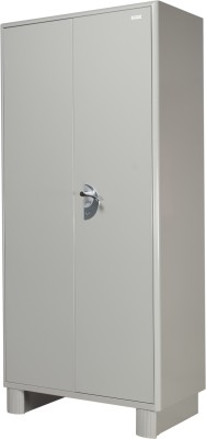 Godrej Interio Metal Free Standing Wardrobe(Finish Color - Prince Grey, 2 Door )