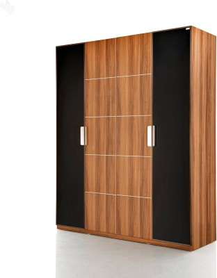 Royal Oak Daffodil Engineered Wood Free Standing Wardrobe(Finish Color - Natural, 4 Door )