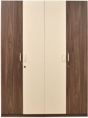 @home by Nilkamal Ozone Engineered Wood Free Standing Wardrobe