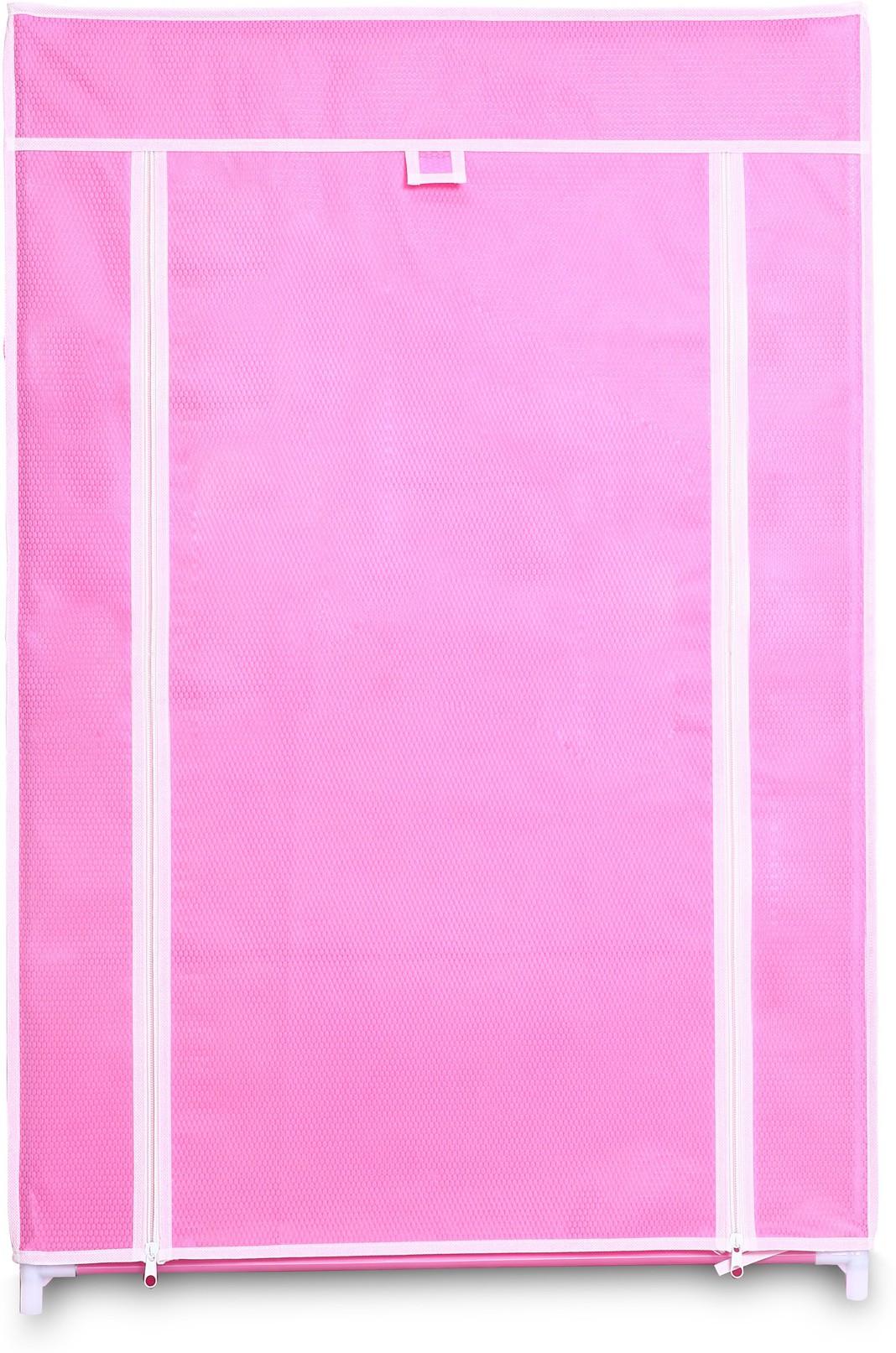 View Birdy Fabric Closet(Finish Color - pink, 1 Door ) Furniture (Birdy)