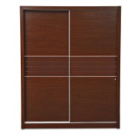 HomeTown Edward Engineered Wood Free Standing Wardrobe(Finish Color - Walnut, 2 Door )