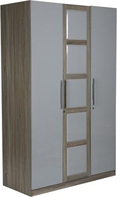 HomeTown Geo Engineered Wood Free Standing Wardrobe