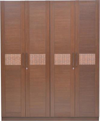 HomeTown Nebula Engineered Wood Free Standing Wardrobe
