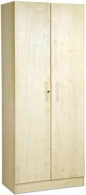 Debono Two door Wardrobe in Maple Matt Finish Engineered Wood Free Standing Wardrobe